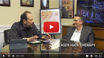 low level laser hair loss treatment therapy san diego orange county
