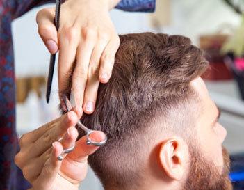 Undercut hair style men San Diego, Orange County CA